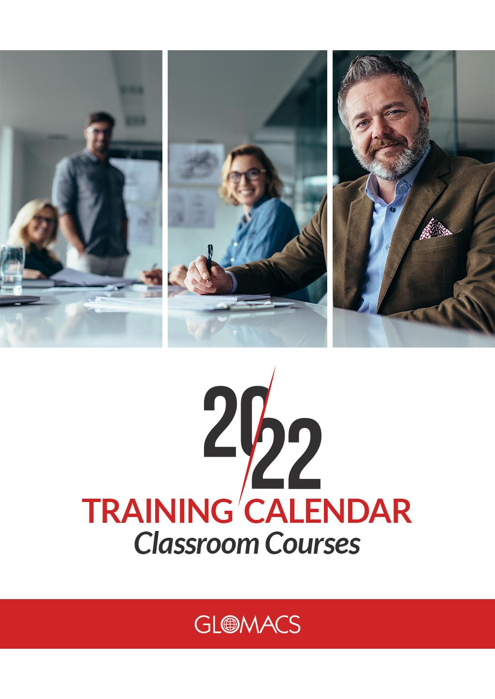 2022 Classroom Training Calendar